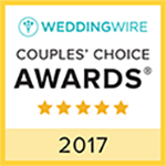 WeddingWire Couples Choice Award 2017